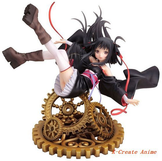 Free shipping 1pcs newest anime Machine-Doll wa Kizutsukanai YaYa pvc figure toy tall 23cm for collection. free shipping 1pcs sex goddess mordina princess pvc figure doll model tall 18cm with box for collection