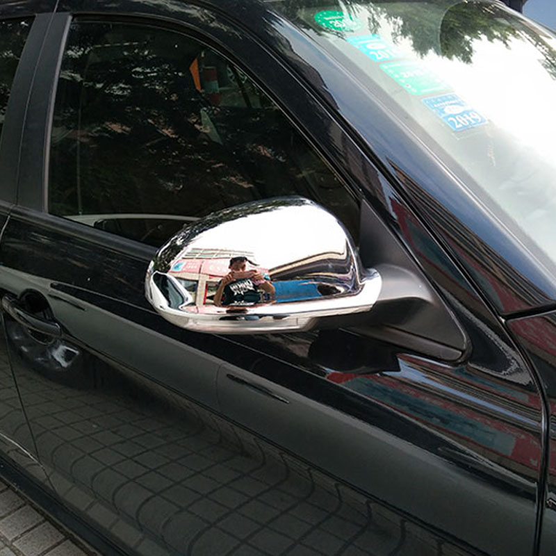 High quality ABS plastic Motor Car Automobile Rearview Mirror Cover For 2006 2011 Volkswagen VW Passat B6