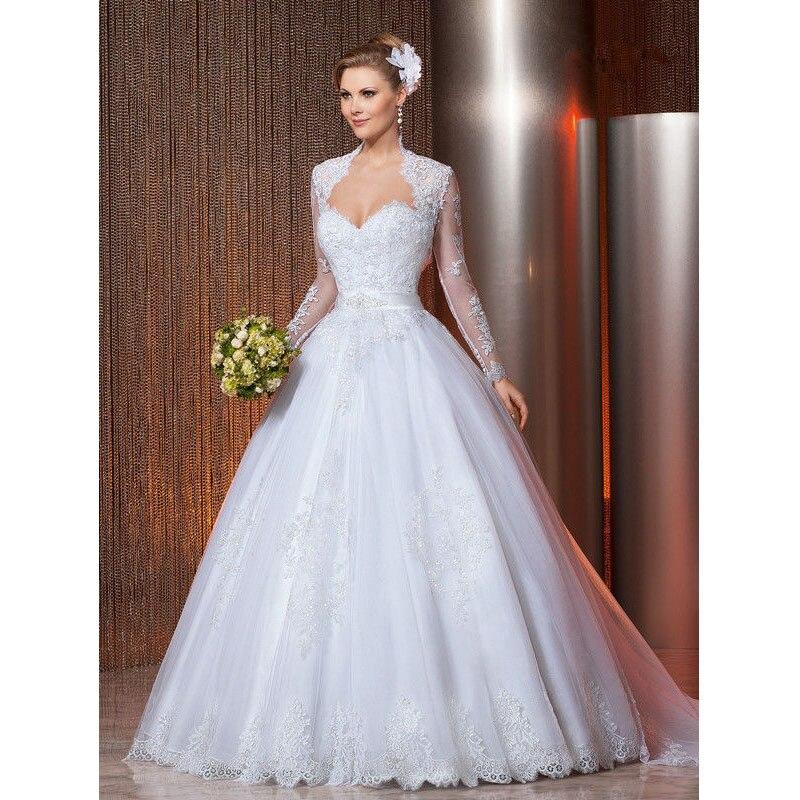 por encargo vestido de novia bolero gratuito blancode marfil de tulle apliques rebordear