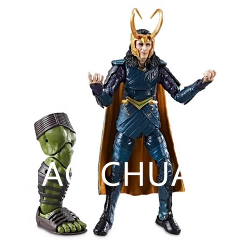 Avengers:Infinity War Supervillain Dark Magic Loki Laufeyson Joint Doll PVC Action Figure Model Toy G1182