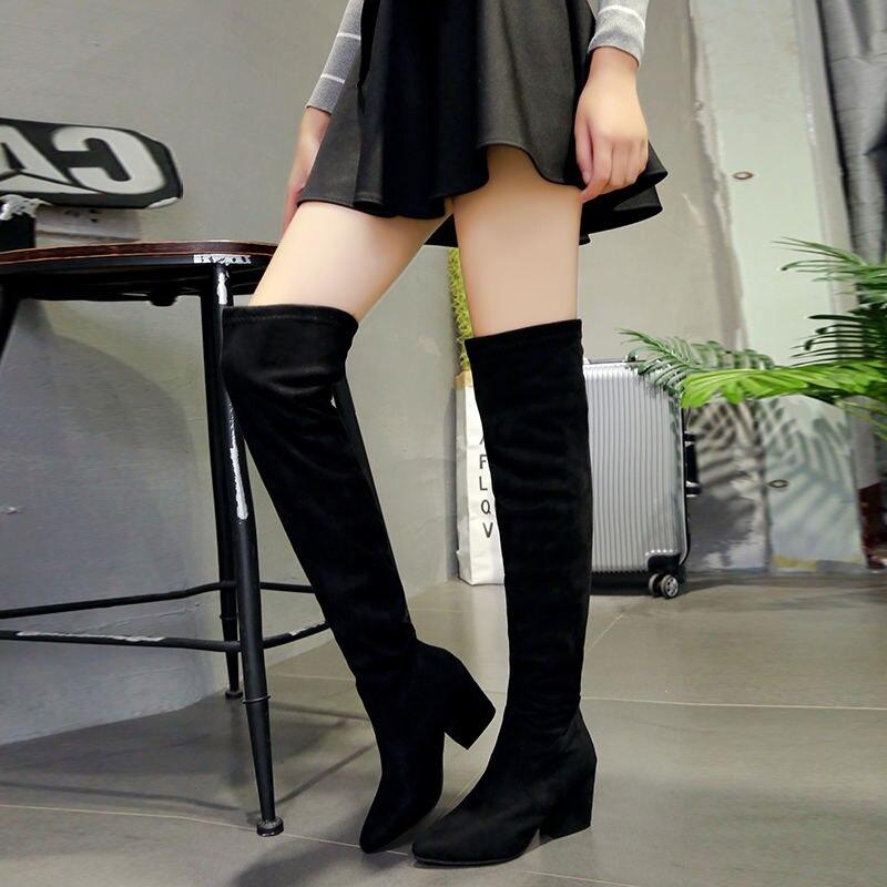 HTB18ru8XorrK1RkSne1q6ArVVXao 2019 Fashion High Heels Newest Women Pumps Summer Women Shoes Thick Heel Pumps Comfortable Shoes Woman Platform Shoes s0013