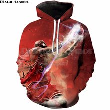 d27ec3cd3ac3 PLstar Cosmos Brand clothing 2018 New Fashion hoodies Mens Womens hooded  Sweatshirts Jordan 3D Print Crewneck