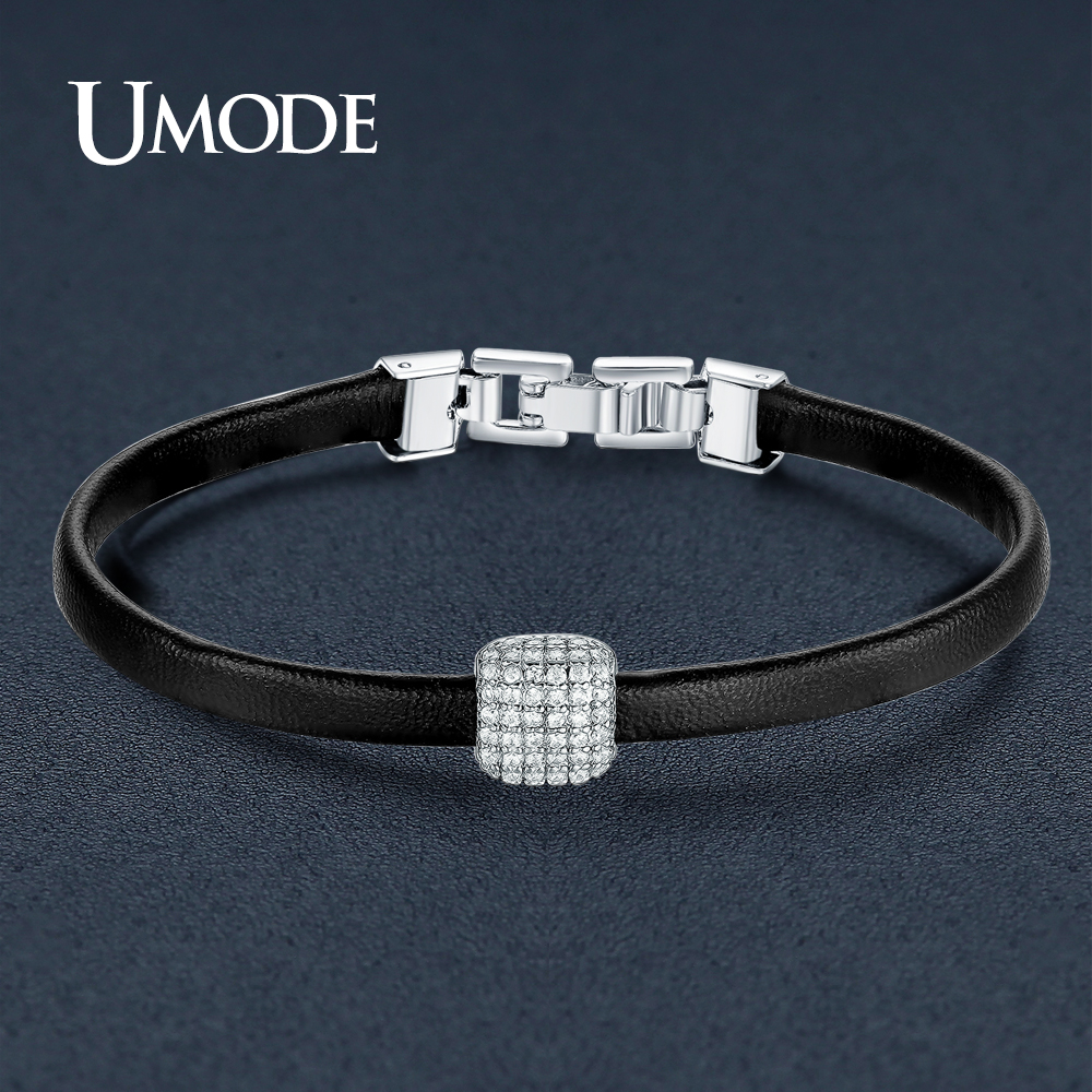 Fashion Fit Pandora Bracelet UMODE New Charm Leather Br
