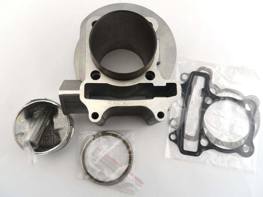 Zhuangqiao Scooter Parts Engine Cc Mm Big Bore Cylinder Kit For Cc Gy Qmi Qmj Chinese on Gy6 150cc Big Bore Kit