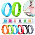 W5 Smart Bluetooth Wristband 3D Screen for Fitness Tracker Pedometer Smart Bracelet Thermometer Bands Silica Gel PK D21 TW64