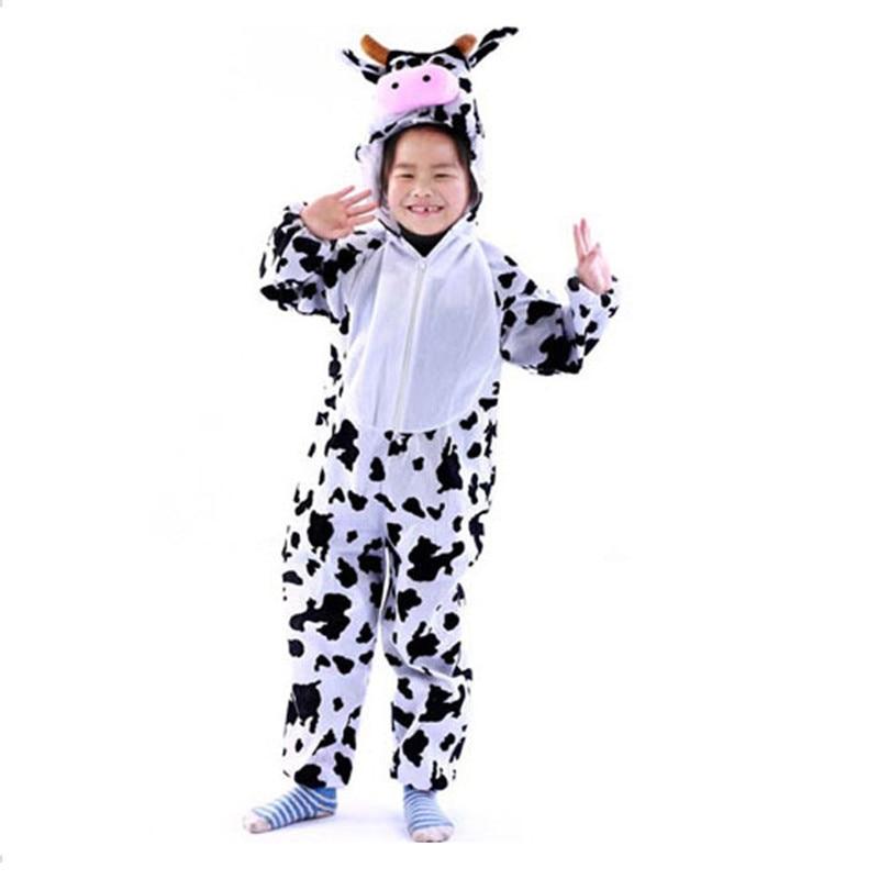 Animal Cartoon Pajama Onesies Baby Boys Girls Onesie Kids Autumn Winter Flannel Funny Animal Pajamas Nightwear Children Cosplay