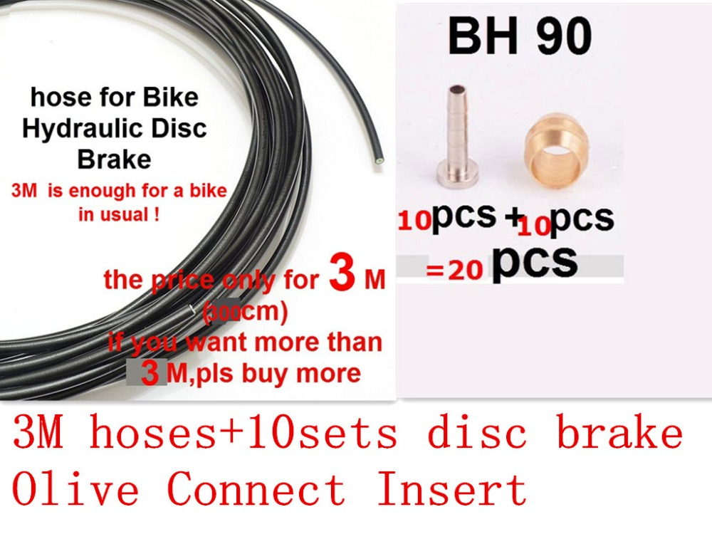 Bicycle Brake Bicycle Parts 3m Bicycle Brake Cycling Cables Housing Hose For Tektro Hayes Hydraulic Bicycle Disc Hose Cycle Brake Fluid Oil Transefer Hose