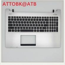 Новая английская клавиатура для ноутбука Asus S550CB K56 k56C K56CB K56CM K56CA A56 A56CB S56CB S56 английскую клавиатуру и Упор для рук крышка