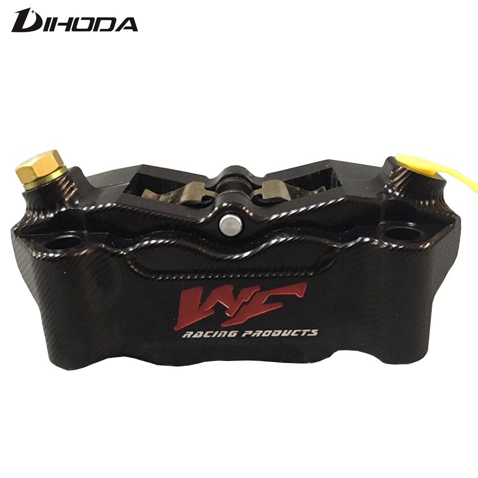 CNC Front Brake Caliper with 4 Piston 100mm Crabs Abalone RIGS caliper brake rear brake caliper