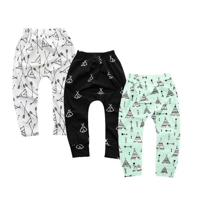 3 Pcs / Lot Leggings Atutmn Cartoon Baby Leggings Children Trousers Harem Pants Baby Boy Trousers Baby Clothes Newborn DKZ210