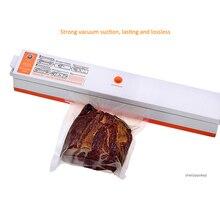 Автоматический мини-герметик бытовой вакуумной уплотнительной машины Сохранение Пищевых Продуктов Спайка костюм для различных сумок 110 V/220 V