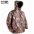 Assault Gear Tactical Woodland Camo Soft Shell Military Jacket Men Waterproof Army Jacket Windbreaker Camouflage Hunter Clothes