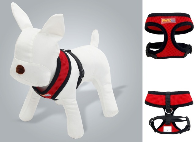 Free Shipping Wholesale Dog Harness Ultra Breathable Harness For Dogs Fashion Firm Harness Essential For Small Dogs 3 Colors