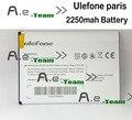 Ulefone paris paris Acessório de Substituição Da Bateria 2250 mAh Bateria de backup Para ulefone Smartphone + Em estoque