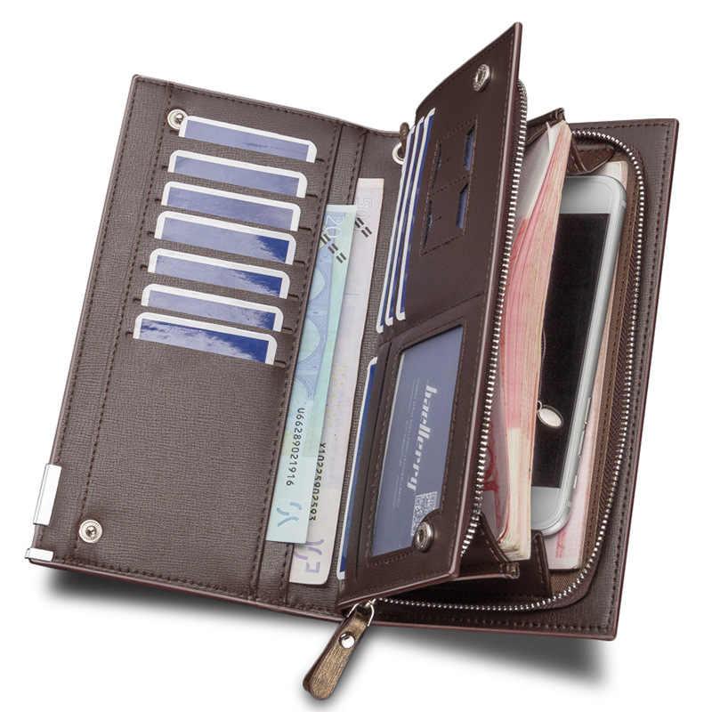 Модный мужской клатч, кошелек Для мужчин бумажники baellerry браслет Для мужчин клатч Сумки, кошелек Для мужчин кошелек кожаный мужской кошелек ко