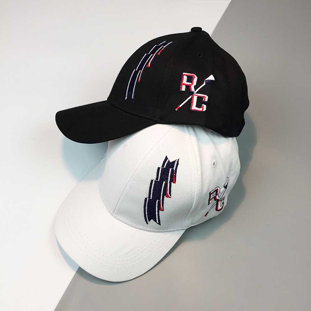 Letter RC Baseball Cap women men cotton Adjustable cool summer Unisex Snapback Hip Hop Flat Hats casquette homme#pingyou(China)