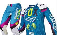 2018 IMPERTINENTE 360 Rohr Azul Jersey & Pant Combo Engrenagem Motocross ATV Da Bicicleta Da Sujeira De Corrida MX Offroad Ciclismo Terno