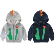 Hooded Jackets Boys Hooded Coat Outerwear Baby Jack