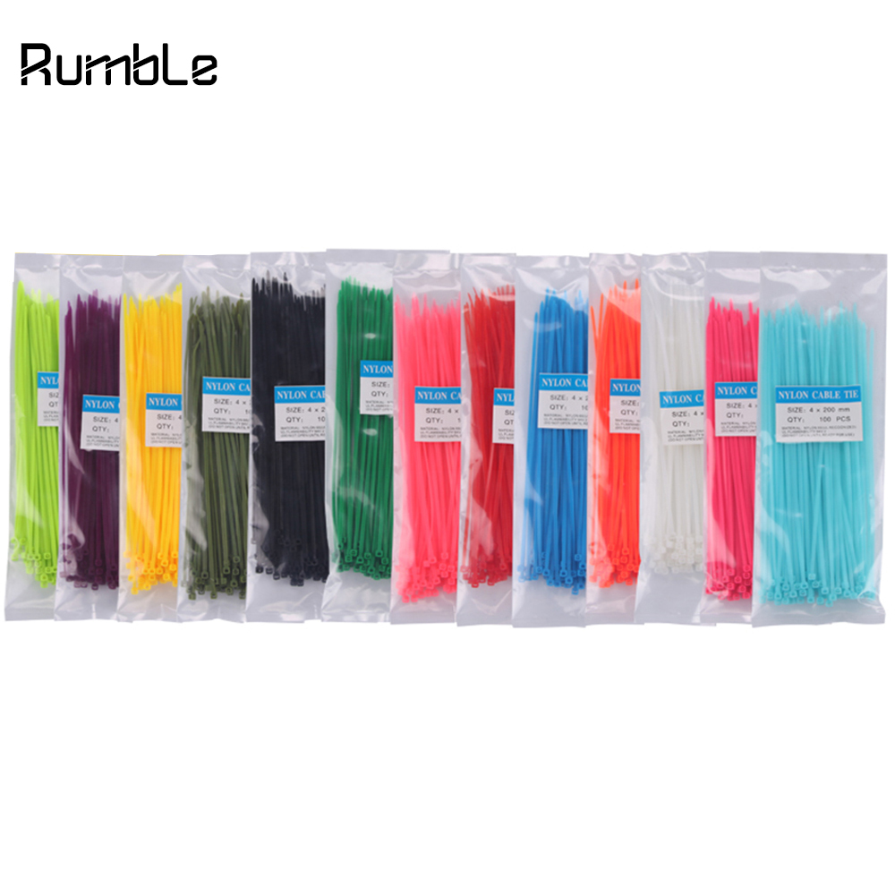 Multicolor COCS 20 PCS Reusable Fastening Cable Strap Cord Wire Organizer for Home Office Multipurpose Cable Ties Wire Management
