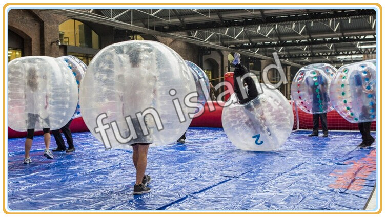 Best quality unique a team play inflatable bumper balls