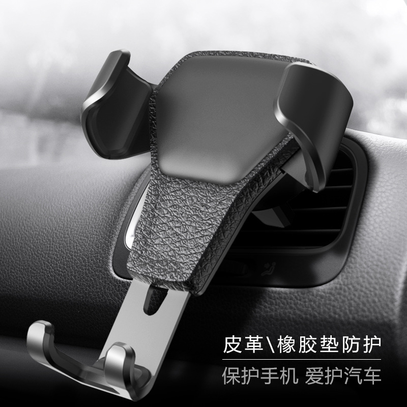 Phone Holder Adjustable Stand Automatic Gravity Sensing Universal Phone Holder Air Vent Outlet Mount Mobile Voiture De Telephone