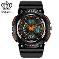 SMAEL Dual Time Display Sport Watches LED Digital Quartz Waterproof Wristwatch relogio masculino esportivo Clock Men Gift WS1539