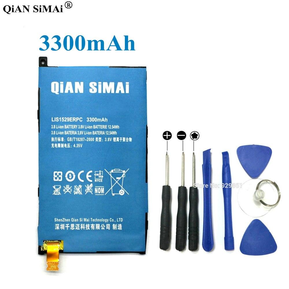 QiAN SiMAi Haute Qualité lis1529erpc 3300 mAh Batterie & Tournevis outils Pour Sony Xperia Z1 mini D5503 Z1 Compact M51w