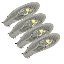 1pcs LED Street Lights 30W 50W 100W 150W Warm/Cold White Road Garden Park lights AC85-265V Streetlight Outdoor Lighting IP65