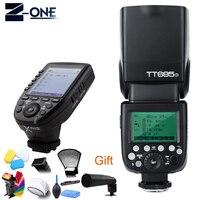 Godox TT685s tt685 Speedlite Flash GN60 +Xpro s Cameras Transmitter Triggers High Speed 1/8000s For Sony Camera+Free Gift