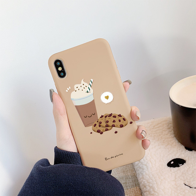 Cute French Fries Honey Phone Case For iPhone
