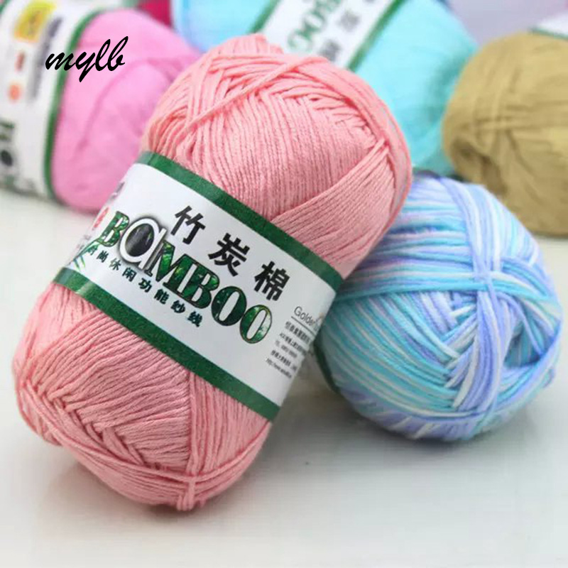 Mylb 500 г 10 шт. мягкая гладкая натуральная бамбуковая хлопчатобумажная пряжа для ручного вязания, Детская хлопчатобумажная пряжа, вязаная спицами 2,25 мм|baby cotton yarn|cotton yarnhand knitting yarn | АлиЭкспресс