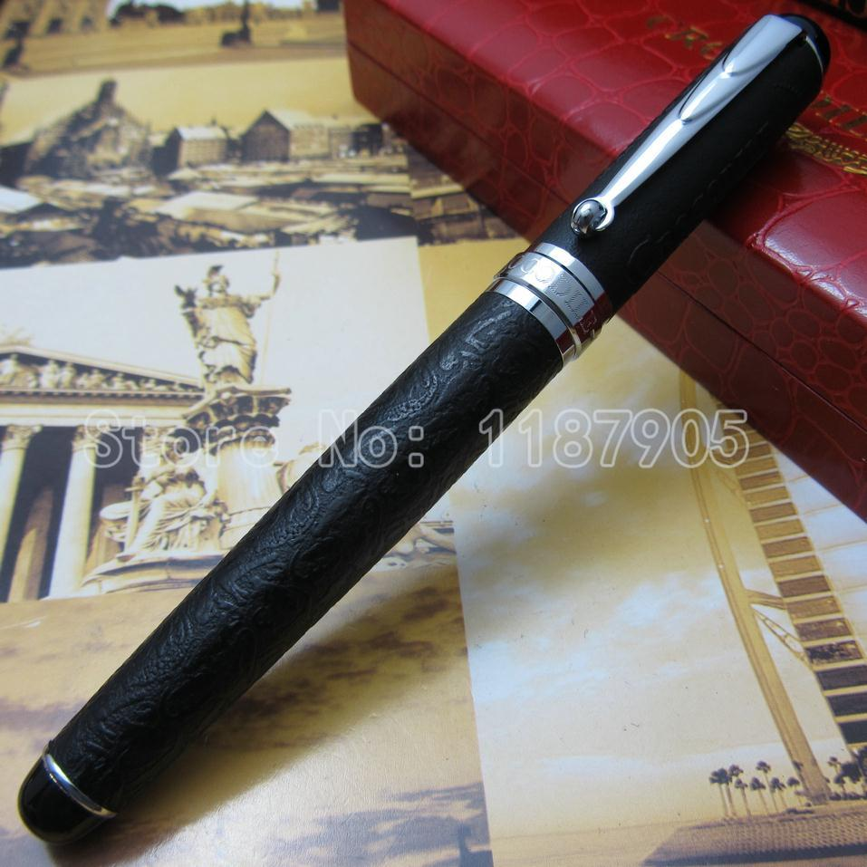 Crocodile 168 crocodile Black skin pattern roller ball pen Hot Blue Red Coffee Color crocodile crocodile cr325f black