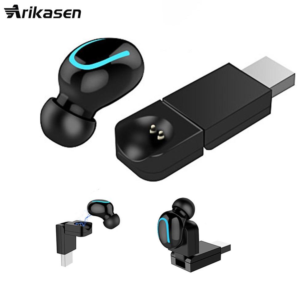 Hot sell mini wireless Bluetooth Headphone Wireless Sport Earbud 8 Hours Talking Time HD Mic  Bluetooth Headset for smartphone