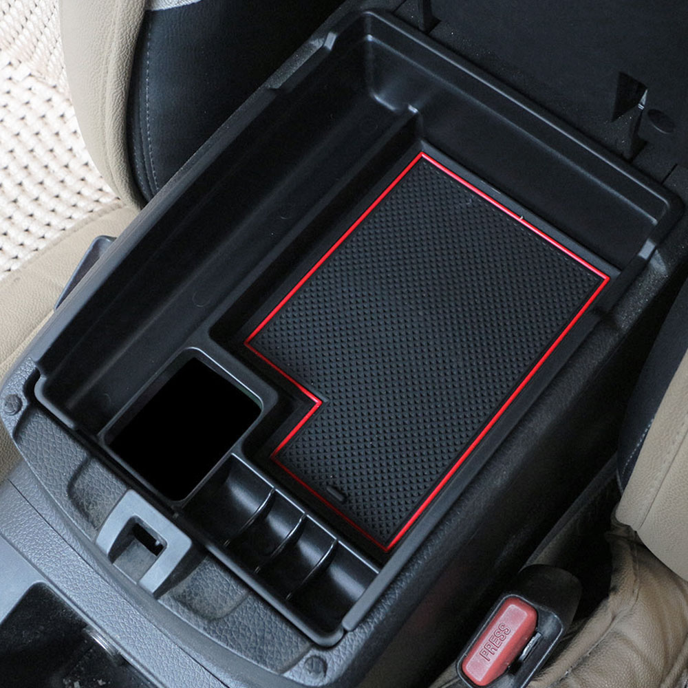 Carmilla Central Staving Pallet Armrest Container Box Case for Nissan X-trail X Trail X Trail T32 2013 - 2017 Car Parts Accessories