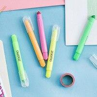 Solid Highlighter Crayon Color Marker Pen Key Mark Pen Children S Paintbrush Creative Crayons Colour Pencil