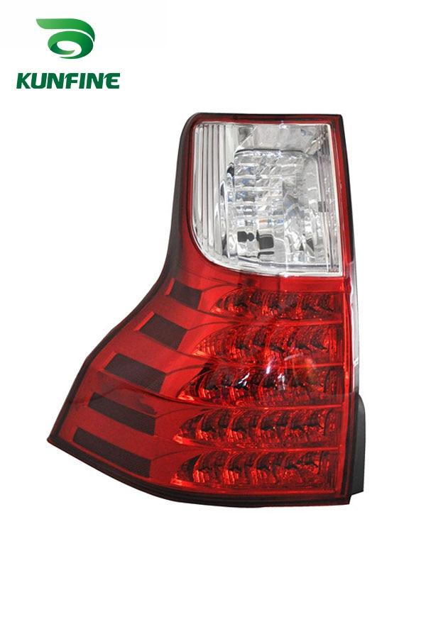 Пара KUNFINE автомобиля задний фонарь для Тойота Prado fj150 спецификации 2011-2016 светодиодный стоп-сигнал с поворотом световой сигнал