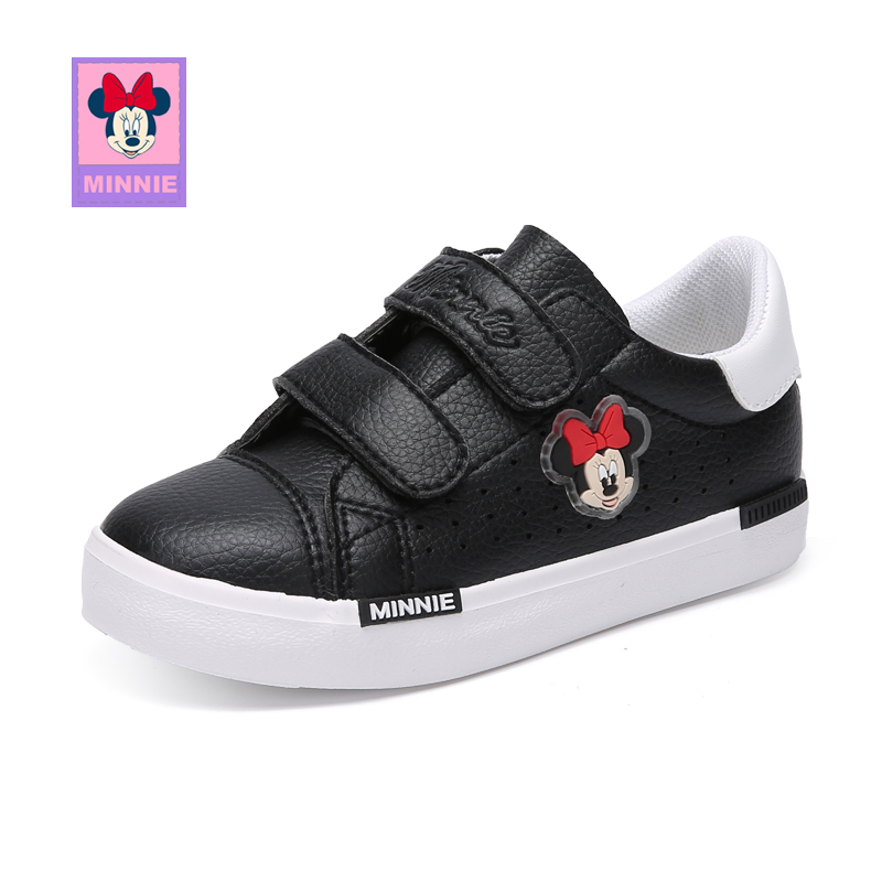 Disney Casual Children's Mickey Shoes For Kids Boys Girls Sneaker Breathable Shoes Flat Wear-resistant slip Size 27-37