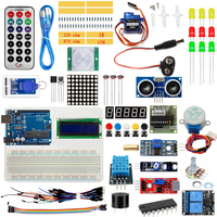 New Upgraded Version Starter Kit RFID learn Suite Kit LCD 1602 for Arduino UNO R3 Servo Relay Sensor Module With Retail Box