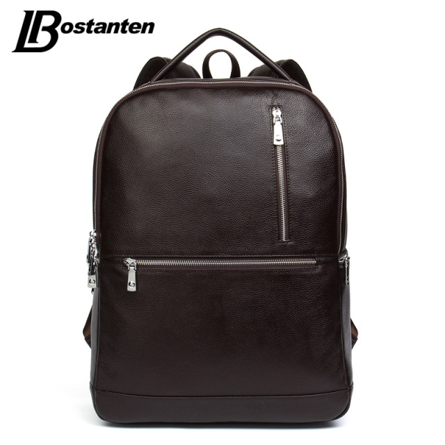 Bostanten 2017 Designer Genuine Leather Men S Backpacks Bolsa Mochila For Laptop Notebook Computer Bags School