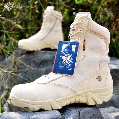 US Army Hunting Trekking Camping Bjergbestigning Durable Pustende Tactical Lightweight Military Boots