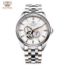 Ван тянь Бренда Мужские Часы полный SS полная автоматическая механические наручные часы GS5810TP/DD Розовое золото цвет вновь запущен 2015