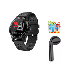 Smart watch men  Waterproof andriod Wearable Device Heart Rate Monitor Color Display SmartWatch For samsung Android IOS 2018