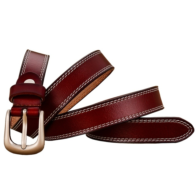 Women's Casual Cow Leather Belt