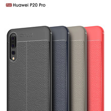 ФОТО for huawei p20pro case for huawei p20 pro cover shockproof luxury leather tpu case for huawei p20 pro phone funda case