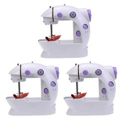 6W Portable Household Mini Electric Sewing Machine 2 Speeds with Night Light 3choices available durable mini sewing machine