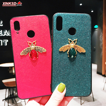 New Luxury brand Diamond Bee Glitte Soft Phone Cases for Xiaomi Mi 9 Redmi 7 Note 5 prohard Cover iphone Case