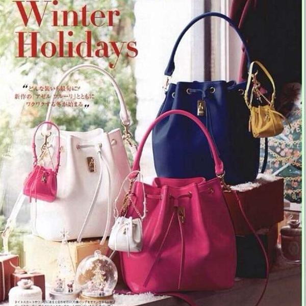 Version Type Samantha Thavasa Lock Bags Women S Handbag One Shoulder Bucket Bag In Top Handle From Luggage On Aliexpress Alibaba