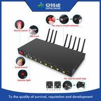USB interface 1U LET 8 port modem pool support bulk sms modem 4G SIM7100