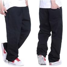 Jeans men 2019 Mens New Fashion Streetwear Large size jeans Stereo Cut Black Biker More Size 30-42 44 46