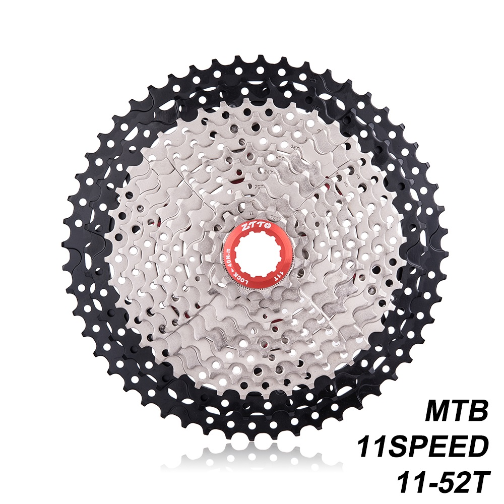 ZTTO MTB 11Speed L Cassette 11S 11-52T Wide Ratio Freewheel Mountain Bike Bicycle Parts For K7 X1 XO1 XX1 M9000 все цены